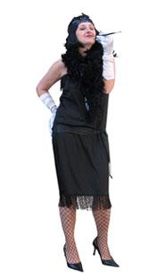 Pilar como bailarina charleston