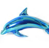 globo delfín para fiesta mar