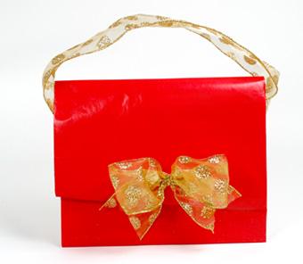 Bolso regalo o regalo bolso envolver regalos navidad - Envolver regalos grandes forma original ...