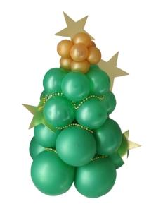Decorar Un Arbol De Navidad Con Cuentas De Collares