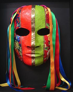 máscara colores