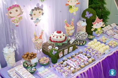 mesa de dulces hadas
