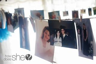 banderin de fotos para una fiesta graduación