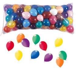 una lluvia de globos para una fiesta graduación