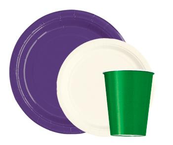 accesorios para la mesa en una fiesta graduación